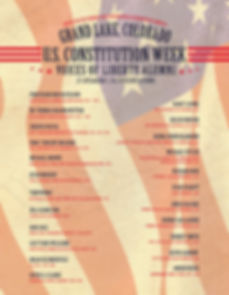 Constitutution Week Alumni of Speakers