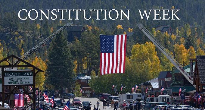 Grand Lake Constitution Week