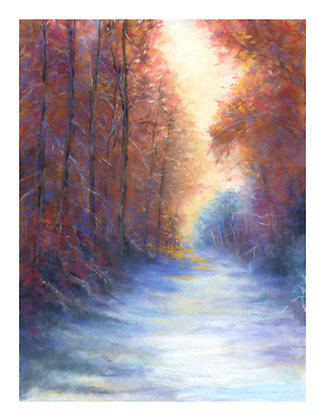 V57 - Snowy Day in Fall