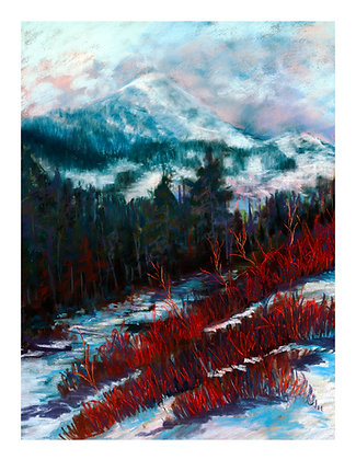 15 - Winter in Red