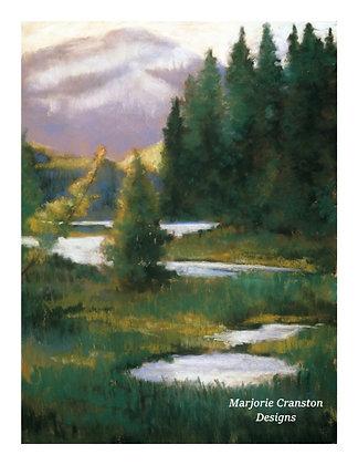 V172 - Misty Mountain River