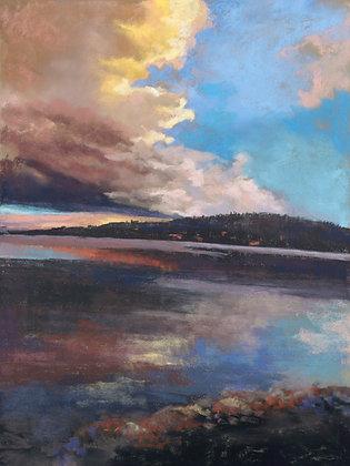 V138 - Lake Sunset