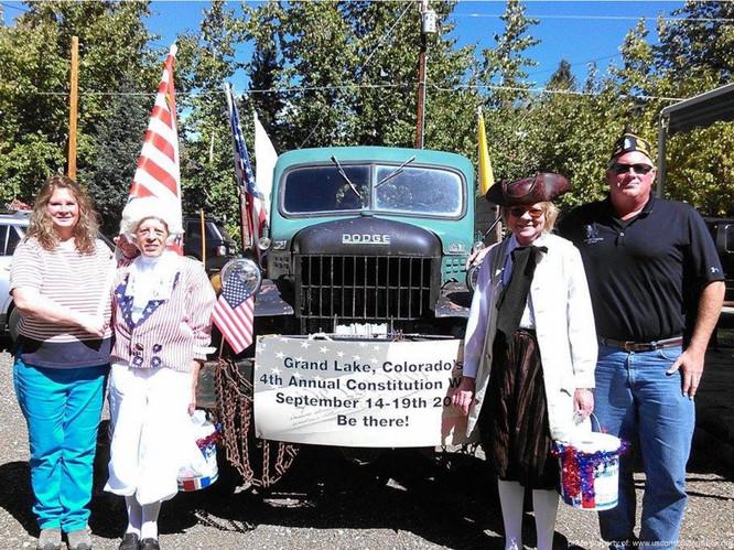 Grand Lake Constitution Week Parade 1