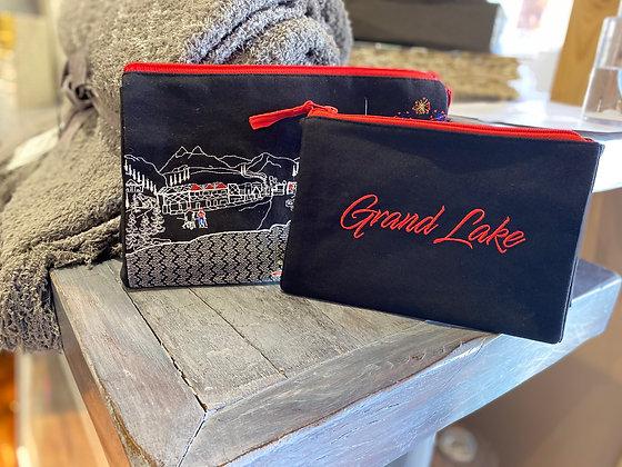 Custom Grand Lake Set of Make-up Bags
