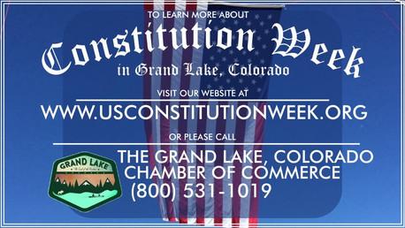 Grand Lake Constitution Week Fireworks Video