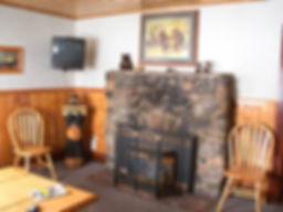 Brownie Cabin Fireplace