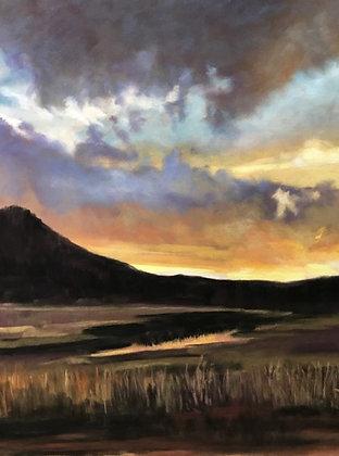V122 - Evening Sky Over Trail Creek