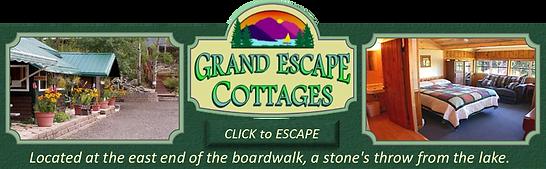 Grand Escape Cottages Ad