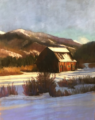V118 - AA Barn In Winter