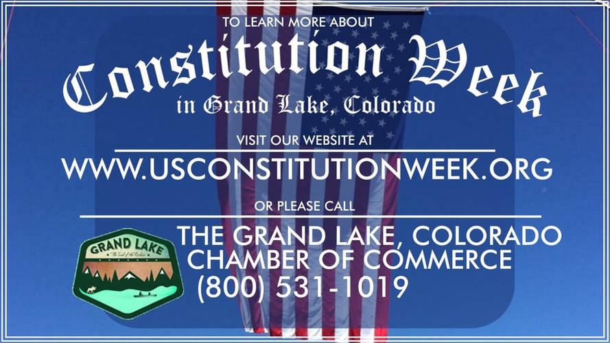 Grand Lake Constitution Week Video