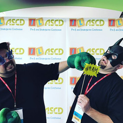 Awesome antics at the #kinderconf!!! #stayawesome
