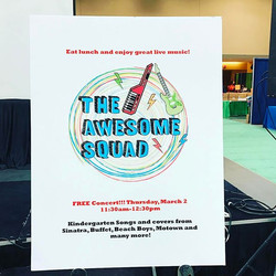Coming up next! #livemusic #ilascd #kinderconf #stayawesome