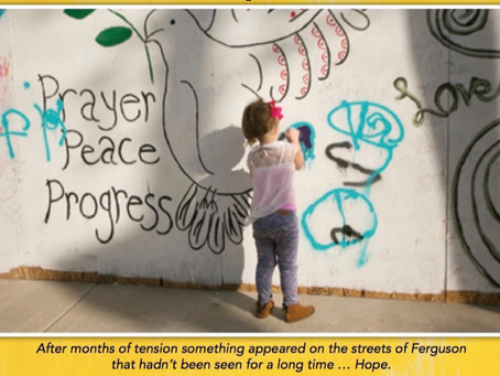 Common Core-aligned curriculum written for 'Painting for Peace in Ferguson'