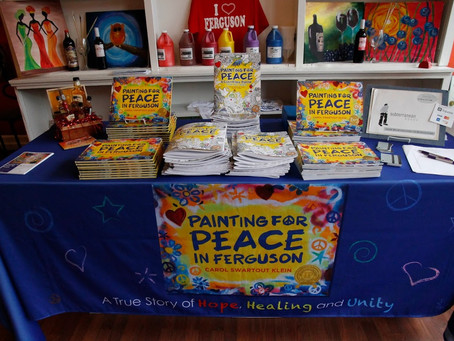 Ferguson launch party for coloring book