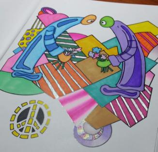 Coloring Books Peace