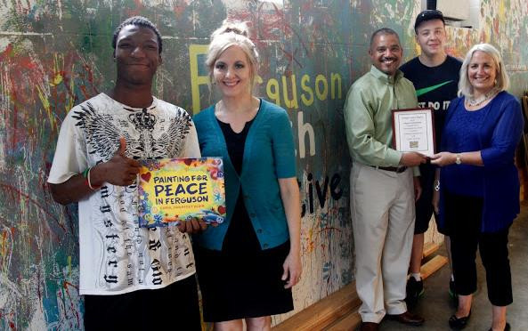Ferguson Youth Initiative receives funds from the book.