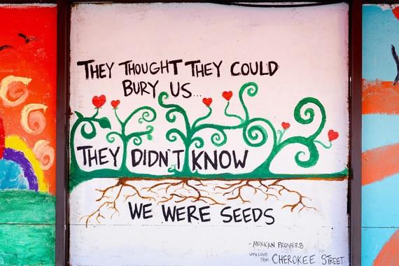 Mexican Proverb Ferguson Mural Andrea McMurray