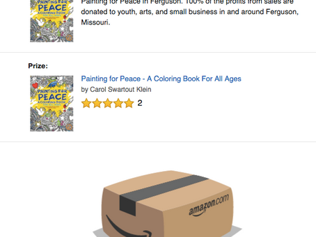 Amazon Coloring Book Giveaway!