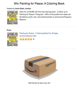 Amazon Coloring Book Giveway
