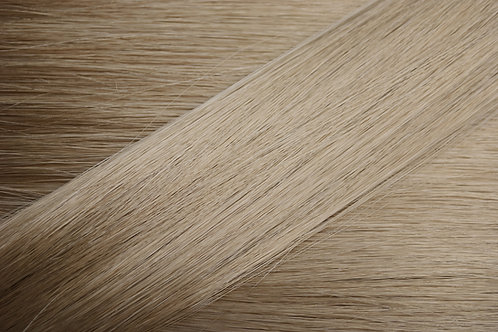 Russian Platinum Blonde straight weft 18""