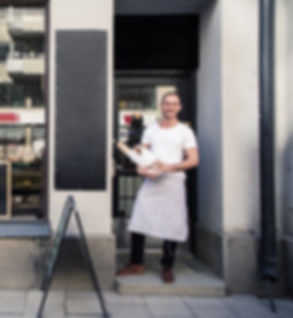 Baker at Store Front