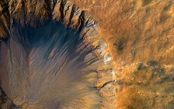crator on Mars