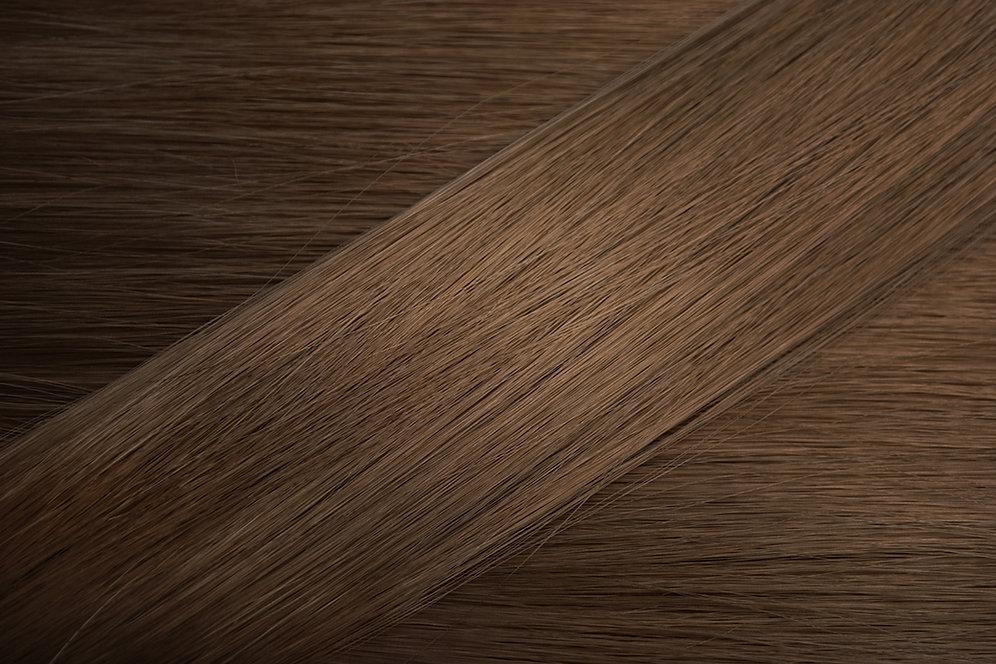 Color de pelo cafe medio