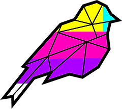 Multi-Colored-Bird