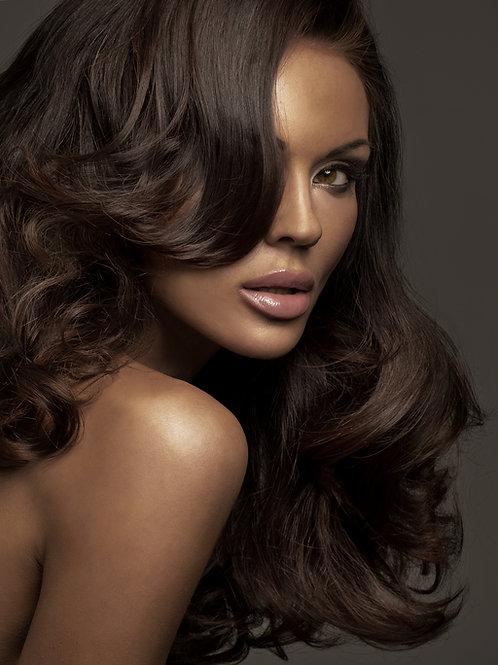 "Wavy Human Hair Extensions 20"""