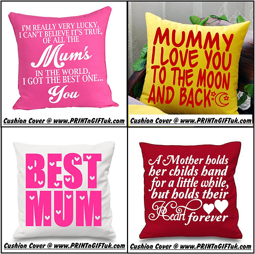 Mothers Day Cushions - Mum/Nan etc