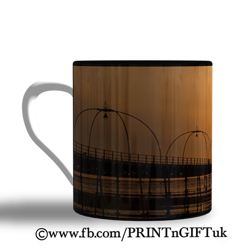 Southport Pier Sunset Mug