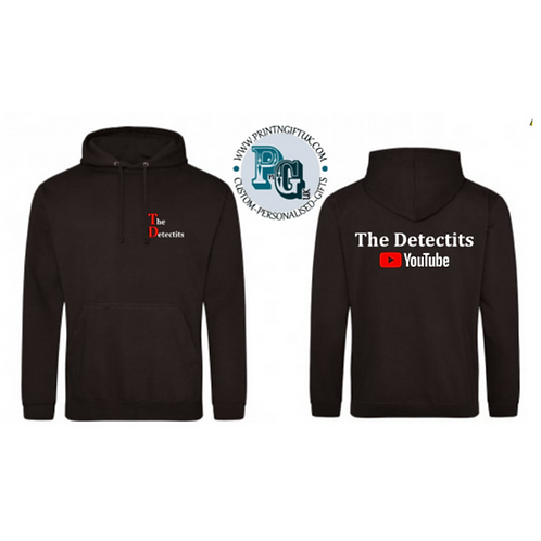 The Detectits Official Merch - Hoody, Zipped & Kids