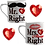 Thumbnail: Mr & Mrs Matching Love Mug's