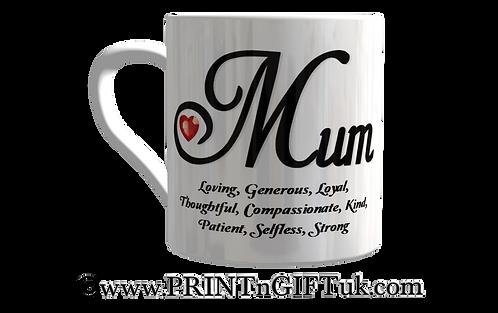 Definition of a Mum mug