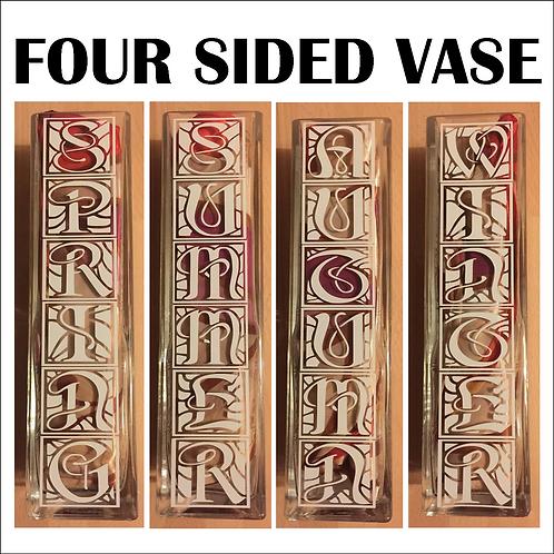 Four Seasons Vase - Custom Designs Available