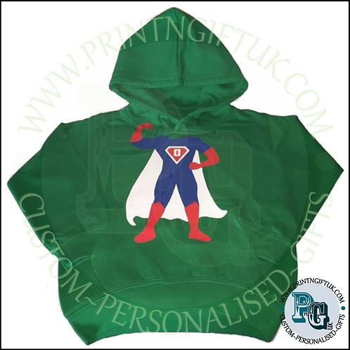 Kids Super Hero Hoody - Personalised