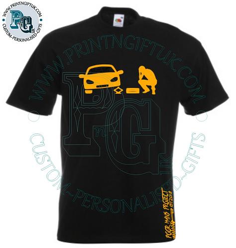 PMP Project Car T-Shirt/Hoody/Zipped Hoody