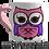 "Thumbnail: Owl ""Mummy I love you to the moon and back"" Mug"