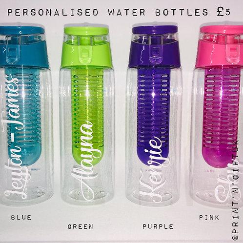 Personalised Water Bottle - Standard Vinyl