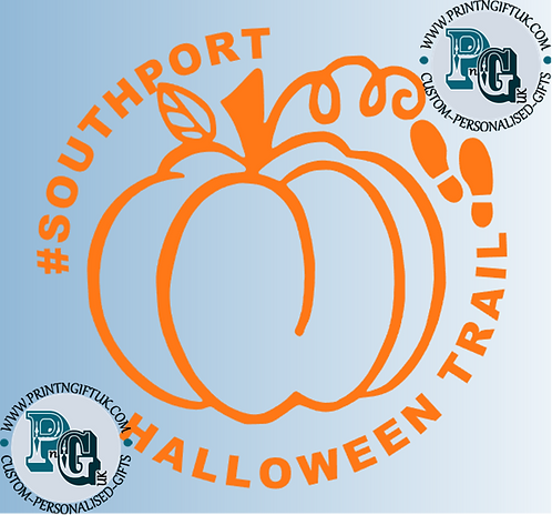 Southport Halloween Trail Window Sticker