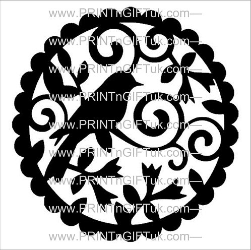 Decorative Bird Vinyl Decal