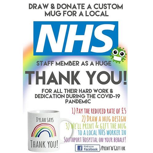 Thank You NHS: sponsor a mug!
