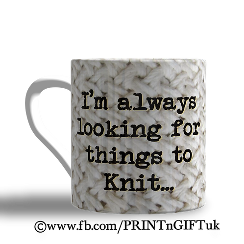Things to Knit Mug