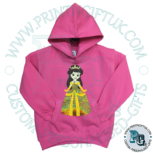 Kids Princess Hoody - Personalised
