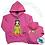 Thumbnail: Kids Princess Hoody - Personalised
