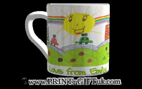 Colour-your-own Mug