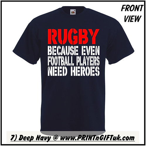 Rugby Heroes T-shirt's