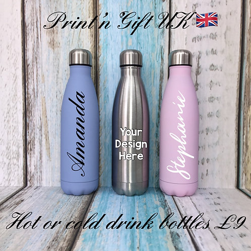 500ml Double Wall Flask - Personalised
