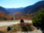 Bea hiking crawford notch.