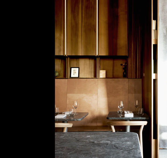 Mak n Ming Restaurant Scott and Scott Architects Vancouver